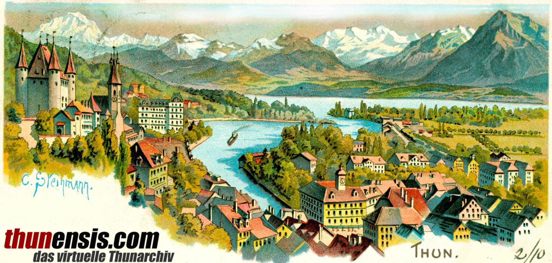 thunensis – Thun historisch